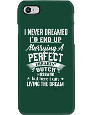 Marrying Dutch Husband Phone Case tile