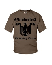 Vintage Oktoberfest Drinking Team Women Youth T-Shirt thumbnail
