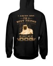 BEST FRIEND PUG Hooded Sweatshirt thumbnail