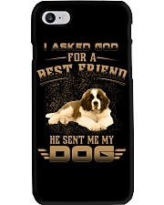 BEST FRIEND ST BERNARD Phone Case tile