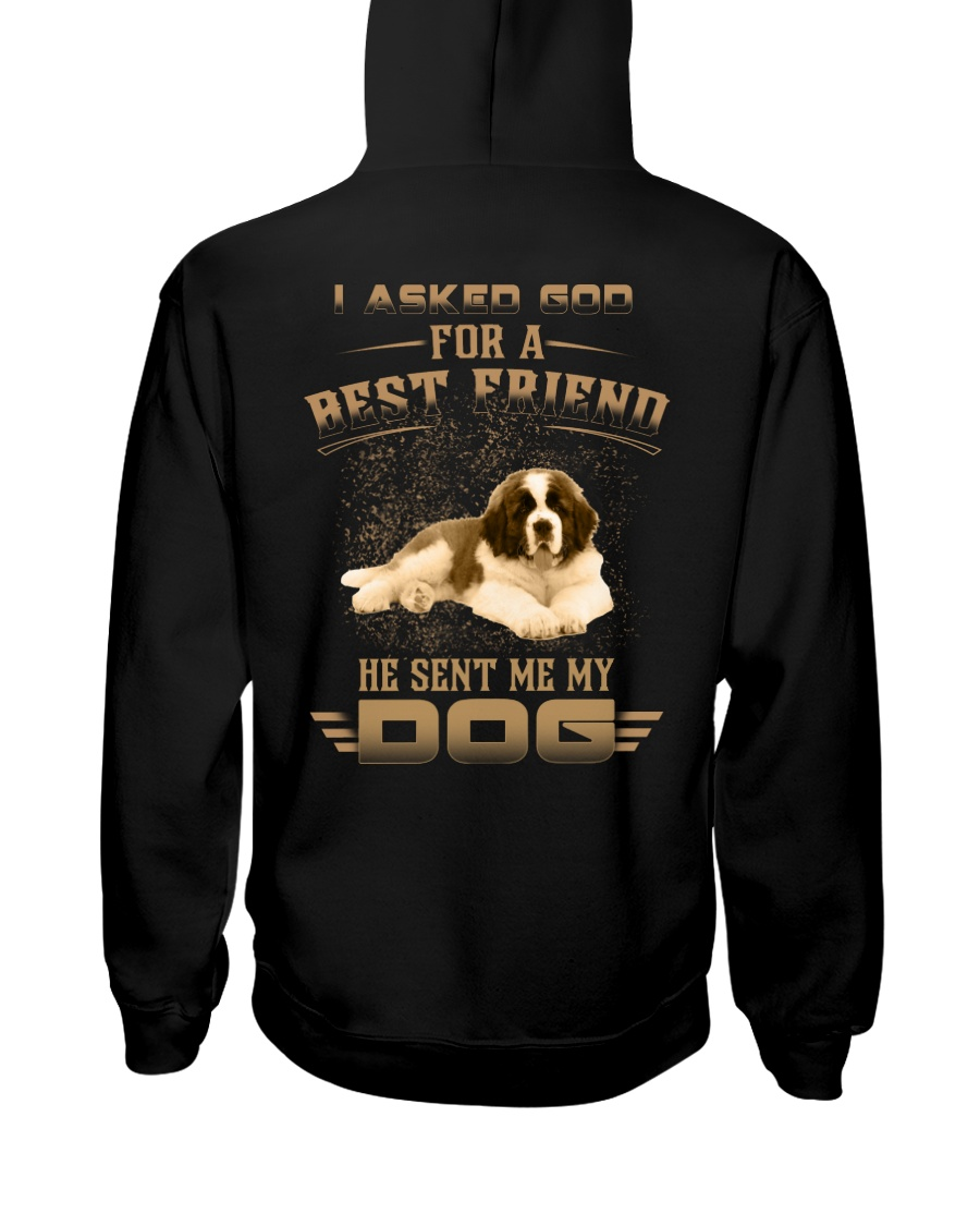 BEST FRIEND ST BERNARD Hooded Sweatshirt
