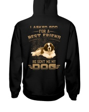 BEST FRIEND ST BERNARD Hooded Sweatshirt back