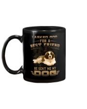 BEST FRIEND ST BERNARD Mug back