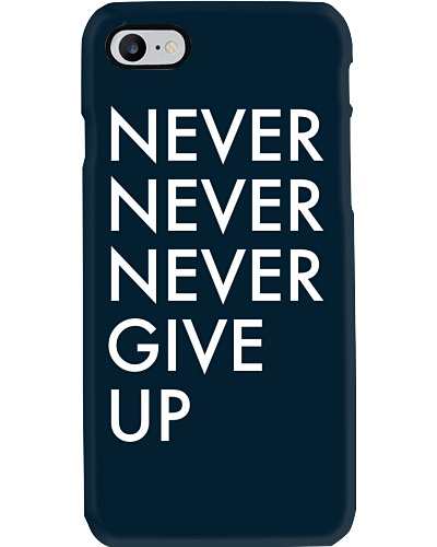Never Never Never Give-up case