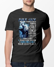 July Guy new- Amazing Shirt Classic T-Shirt lifestyle-mens-crewneck-front-13