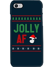 Jolly AF as Christmas Gift - Joke T Shirt Phone Case thumbnail