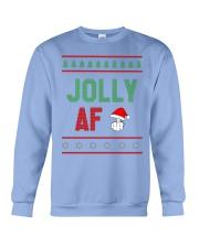 Jolly AF as Christmas Gift - Joke T Shirt Crewneck Sweatshirt thumbnail