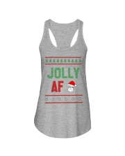 Jolly AF as Christmas Gift - Joke T Shirt Ladies Flowy Tank thumbnail