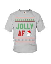 Jolly AF as Christmas Gift - Joke T Shirt Youth T-Shirt thumbnail