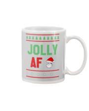 Jolly AF as Christmas Gift - Joke T Shirt Mug thumbnail