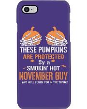 HALLOWEEN  NOVEMBER GUY - FUNNY SHIRT   Phone Case thumbnail