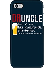 DRUNCLE DEFINITION - FUNNY UNCLE - Christmas gift Phone Case thumbnail