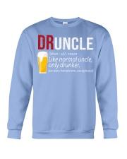 DRUNCLE DEFINITION - FUNNY UNCLE - Christmas gift Crewneck Sweatshirt thumbnail