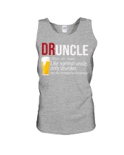 DRUNCLE DEFINITION - FUNNY UNCLE - Christmas gift Unisex Tank thumbnail