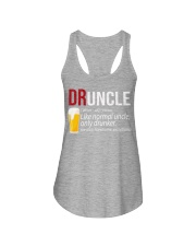 DRUNCLE DEFINITION - FUNNY UNCLE - Christmas gift Ladies Flowy Tank thumbnail