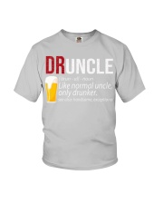 DRUNCLE DEFINITION - FUNNY UNCLE - Christmas gift Youth T-Shirt thumbnail