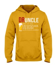 DRUNCLE DEFINITION - FUNNY UNCLE - Christmas gift Hooded Sweatshirt thumbnail