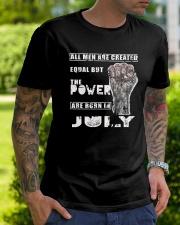 Legends Born in July - amazing shirt Classic T-Shirt lifestyle-mens-crewneck-front-7