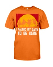 I Pause My Game To Be Here Gamer Shirt Classic T-Shirt tile