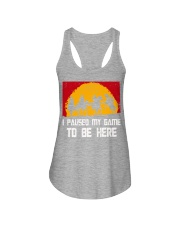 I Pause My Game To Be Here Gamer Shirt Ladies Flowy Tank thumbnail