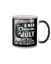 July Guy Devil NEW - Amazing Shirt Color Changing Mug thumbnail