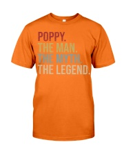 Mens Poppy The Man The Myth The Legend  Classic T-Shirt tile
