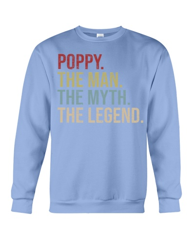 Mens Poppy The Man The Myth The Legend