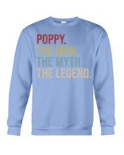 Mens Poppy The Man The Myth The Legend  Crewneck Sweatshirt thumbnail