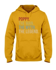 Mens Poppy The Man The Myth The Legend  Hooded Sweatshirt thumbnail