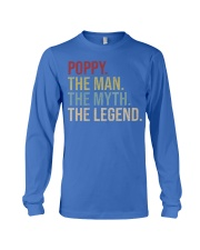 Mens Poppy The Man The Myth The Legend  Long Sleeve Tee thumbnail