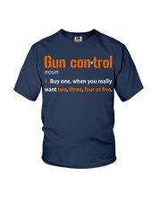 Mens Gun Control Shirt: Gun Control Definition - F Youth T-Shirt thumbnail