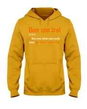 Mens Gun Control Shirt: Gun Control Definition - F Hooded Sweatshirt thumbnail