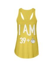 FUNNY Shirt -  I Am 39  New Realease Ladies Flowy Tank thumbnail