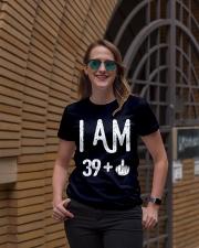 FUNNY Shirt -  I Am 39  New Realease Ladies T-Shirt lifestyle-women-crewneck-front-2