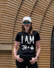 FUNNY Shirt -  I Am 39  New Realease Ladies T-Shirt lifestyle-women-crewneck-front-4