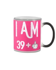 FUNNY Shirt -  I Am 39  New Realease Color Changing Mug thumbnail