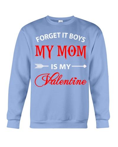 Single Gifts Hug Funny Mom Is My Valenti