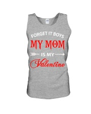 Single Gifts Hug Funny Mom Is My Valenti Unisex Tank thumbnail