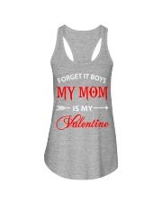 Single Gifts Hug Funny Mom Is My Valenti Ladies Flowy Tank thumbnail