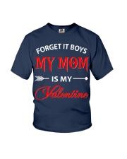 Single Gifts Hug Funny Mom Is My Valenti Youth T-Shirt thumbnail