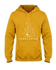 Funny Catmas Tshirt Hooded Sweatshirt thumbnail