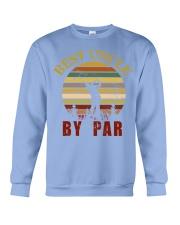Mens Vintage Best Uncle by Par Funny Golf T-shirt  Crewneck Sweatshirt thumbnail