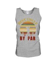 Mens Vintage Best Uncle by Par Funny Golf T-shirt  Unisex Tank thumbnail