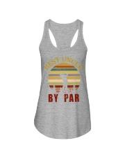 Mens Vintage Best Uncle by Par Funny Golf T-shirt  Ladies Flowy Tank thumbnail