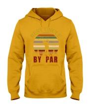 Mens Vintage Best Uncle by Par Funny Golf T-shirt  Hooded Sweatshirt thumbnail