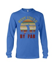 Mens Vintage Best Uncle by Par Funny Golf T-shirt  Long Sleeve Tee thumbnail