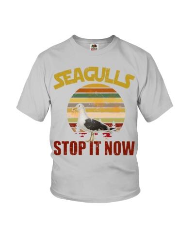 SEAGULLS STOP IT NOW - FUNNY SEAGULLS SHIRT