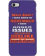 NOVEMBER BIRTHDAY  - FUNNY SHIRT   Phone Case i-phone-7-case