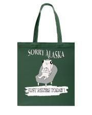 FUNNY shirt -  Alaska day T shirt Tote Bag thumbnail