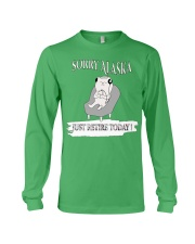FUNNY shirt -  Alaska day T shirt Long Sleeve Tee thumbnail